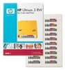 HP Barcode Labels RW  Ultrium 3 Automation Strichcode-Etikett 100 Etiketten + 10CL