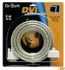 Dr. Bott DVI Extension 3m  passives Verlängerungskabel für digitale DVI-D Monitore, auch für Apple Cinema Display 20+23', keine Verkettung möglich