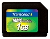 Transcend RS Multi Media Karte 1GB  (Reduced-Size MultiMediaCard) Betriebsspannung : 1,8V / 3,3V Dual Volt Betriebstemperatur : -25C bis 85C