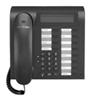 T-Com Comfort Open P 100 schwarz-blau IP Basissystemtelefon, 2-zeiliges (Article no. 90230353) - Picture #2
