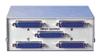ROLINE Switch     ,   Schnittstellen: 4x parallel/seriell (25-polig), Verbindungen: 1x paralell/ seriell (25polig), Umschaltung erfolgt mechanisch per Drehknopf