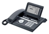 Siemens OpenStage 40 SIP-Systemtelefon lava, 6zeiliges Display, 8 Funktions- tasten, 6 frei programmierb. Touch- tasten, 5-Wege-Navigator, 3-Port- Ethernet-Switch, Vollduplex- Freisprechen, Layer 2 Authentifizierung (802.1x), Power over LAN (IEEE 802.3af), passendes Netzteil: 90256462