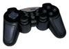 Techsolo TG-20 GameCommander  14 Tasten, 2x analoge Sticks, digitales Richtungskreuz, 2 Shock-Controller, USB, Kabellänge ca. 1m, kompatibel zu Windows 98/ME/2000/XP