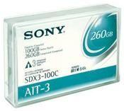 Sony 8mm 230m 100/260GB AIT-3 mit Memory