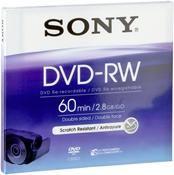 Sony DVD-RW 2.8GB DMW 60 8cm 2X