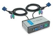 D-Link DKVM-2K KVM Switch 2 Port