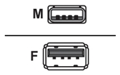 Mcab USB Verlängerungskabel 3 Meter