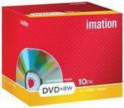 Imation DVD+RW 4.7GB 4X 10er Pack