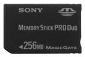 Sony Memory Stick Pro Duo 256MB