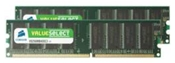 Corsair ValueSelect 1GB DDR   ,