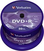 Verbatim DVD+R 4.7GB 16X 50er Spindel