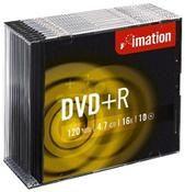 Imation DVD+R 4.7GB 16X Slimcase 10er 10er Pack