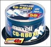 Maxell CD-R 80 Minuten 700MB 52X XL , (Article no. 90188703) - Picture #1