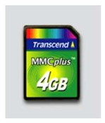 Transcend Multi Media Karte 4GB