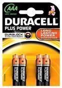 Duracell Plus Power MN 2400 AAA Micro 4 Stück