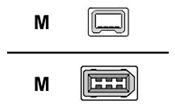 Canon IFC-200 D 4 Firewire Kabel