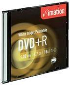 Imation DVD+R 4.7GB 16X Inkjet weiss