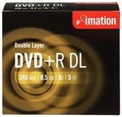 Imation DVD+R DL 8.5GB 8X Jewelcase 5er