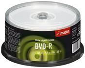 Imation DVD-R 4.7GB 16X Inkjet weiss     ,