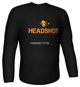 Longsleeve HEADSHOT black Gr.XL