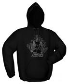 Kapuzensweater FOR THE ALLIANCE black