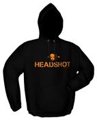 Kapuzensweater HEADSHOT black