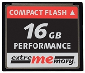 extrememory Compact Flash Karte 16GB  ,