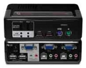 Avocent KVM-Switch USB2.0/PS2 2-Port