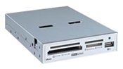 Ultron CardReader UCR 75in1 silber (Article no. 90252302) - Picture #2