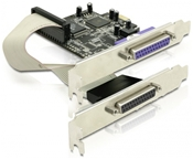 DeLOCK PCI Express Karte 2x Parallel