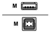 Value USB-Anschlusskabel 1.8m