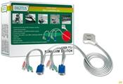 Digitus Mini KVM-Switch 2-fach    ,