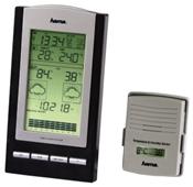Hama EWS-800 Elektronische Wetterstation schwarz/silber,