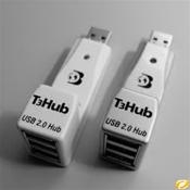 Dr. Bott T3Hub 2.0 3-Port USB aluminium