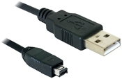 DeLOCK Kabel mini USB2.0 - 4pin Hirose