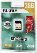 Fujifilm SD Karte 2GB   .,