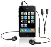 Macally Tunepal Stereo Headset Splitter, In-Ear headphones, black