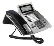 Agfeo ST 40 IP Systemtelefon silber