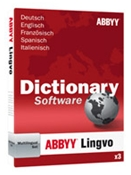 ABBYY Lingvo Dictionary X3 13.0 für Windows, multilinguales Wörterbuch (Article no. 90300029) - Picture #1