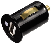 Hama USB-Kfz-Ladegerät Mini CLA schwarz