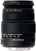 Sigma 50-200/4.0-5.6 DC OS HSM M/AF