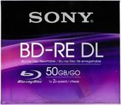 Sony Blu-ray ReWritable 50GB 2X