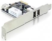 DeLOCK FireWire A 2+1 Port PCI Express