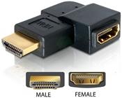 DeLOCK Adapter HDMI Stecker zu HDMI