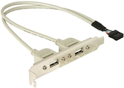 DeLOCK Slotblech intern USB 9pin