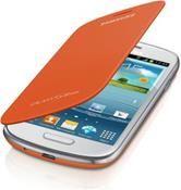 Samsung Flip Cover EFC-1M7F, Barren Handy  in weiß  mit 64 MB Speicher