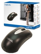 LogiLink Optical Maus schwarz