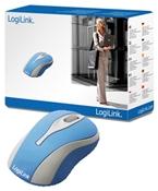 LogiLink Optical Mini Maus blau
