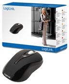 LogiLink Optical Mini Maus schwarz