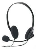 ednet Headset schwarz